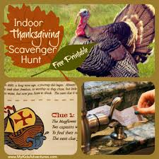 how to a thanksgiving scavenger hunt my adventures