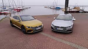 volkswagen arteon r line volkswagen arteon elegance and arteon r line exterior design