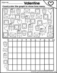 free printable colored graph worksheets preschool and kindergarten