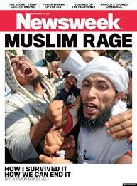 Racist Muslim Memes - muslim rage newsweek cover by ayaan hirsi ali sparks global meme