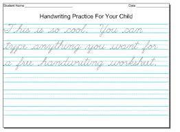 free cursive handwriting worksheets for third grade free practice cursive handwriting worksheets cursive writing