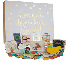 hallmark 24ct handcrafted embellished boxed card set w storage
