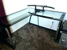 Officemax Clear Glass Desk Officemax Glass Desk Top Computer
