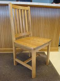 Mission Oak Dining Chairs Amish Mission Schoolhouse Dining Room Chair