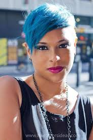 black women platham short hair 16 best blue hair ideas images on pinterest colourful hair