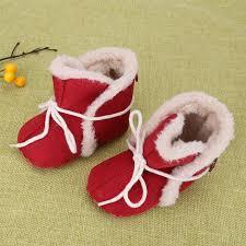 baby boots girls non slip winter shoes first walker warm soft