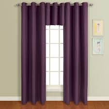 Lavender Drapery Panels Amazon Com United Curtain Mansfield Woven Grommet Valance 50 By