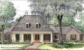 French Country House Plan Louisiana Style House Plans House Plan Country French House