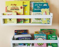 Nursery Wall Bookshelf Nursery Shelves Etsy