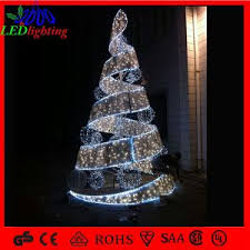 Spiral Light Christmas Tree Outdoor by China H 120cm White Outdoor Tree Lights Decoration Spiral