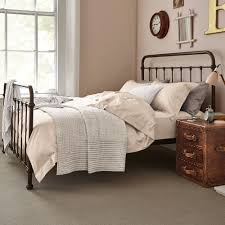 Iron Frame Beds Metal Beds For Sale Wrought Iron Bed Feather Black