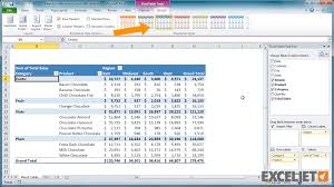 Change Table Style In Excel Excel Tutorial How To Create A New Pivot Table Style