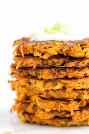 curried carrot sweet potato fritters simply quinoa