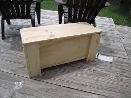 Plans To Build Outdoor Storage Bench by Ana White Kids Storage Bench Diy Projects