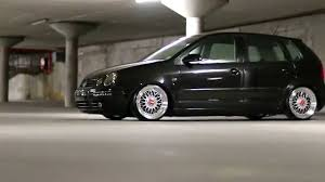 modified volkswagen polo black mamba pimped out vw polo classic youtube