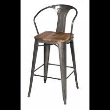 brilliant metal and wood counter stools rialto x back counter