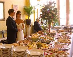 Buffet Menu For Wedding by Caffé Luna On Site Wedding Reception