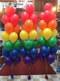 ballon boquets balloon arches bouquets and columns san francisco s balloon magic