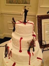 walking dead cake ideas themed wedding cakes cakes favours guest books