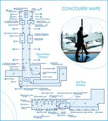 Atlanta International Airport Map by Terminal