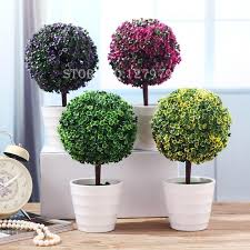 aliexpress buy snow tree plastic pots artificial