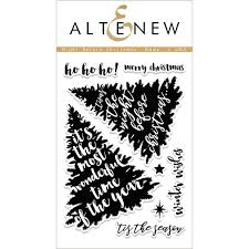 altenew clear stamps night before christmas ellen hutson llc