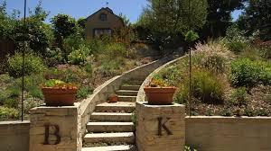 houzz tv curves and surprises transform a dry backyard