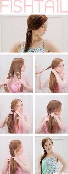 tutorial kepang rambut frozen how to do a fishtail braid handspire