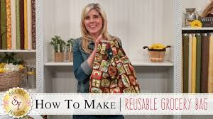 how to make a reusable grocery bag with jennifer bosworth of