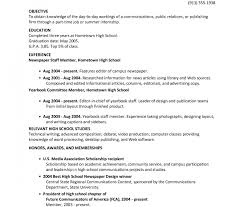 exle of high school student resume exle resume for highschool students college applications with