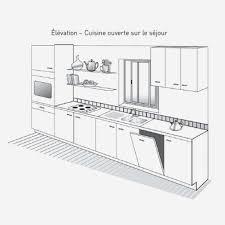 largeur plan de travail cuisine profondeur plan de travail cuisine beautiful profondeur plan de
