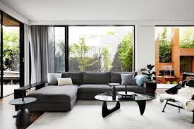 interial design a contemporary monochromatic home in melbourne by sisalla