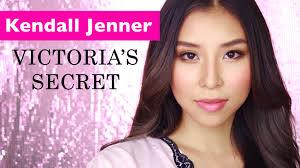 victoria 39 s secret 2016 kendall jenner makeup tutorial 2016 08 17