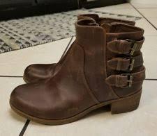 ugg volta sale ugg australia bonham chestnut water resistant leather boot size 5