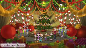 merry christmas flash card christmas lights decoration
