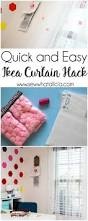 ikea curtain hacks quick and easy ikea curtain hack sew what alicia