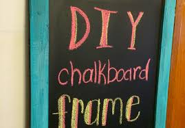 diy chalkboard frame trends with benefits
