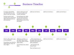 Free Excel Timeline Template Timelines Office Com