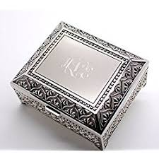 personalized jewelry box personalized jewelry boxes let s personalize that