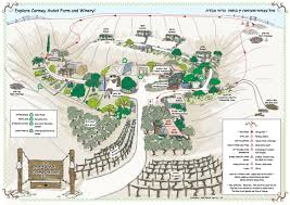 Negev Desert Map Carmey Avdat Farm Farm Trail