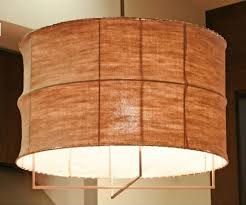 Pendant Light With Shade by Pendant Light Fabric Design Homes Gallery