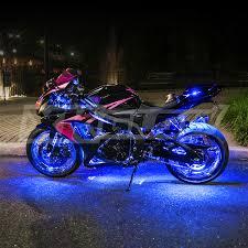 white led motorcycle light kit ultra bright neon falcon led pink blue white red amber light