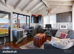 beautiful home office interior