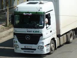 mercedes truck white truck spotting mercedes benz actros 1844