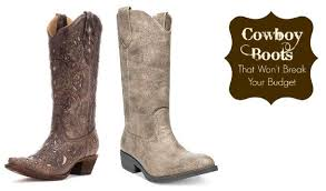 buy cowboy boots canada 5 pairs of cowboy boots that won t your budget