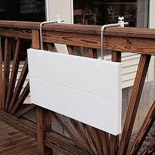 folding balcony tables apartment therapy