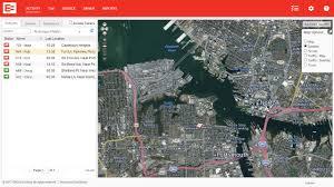 Satellite Map Usa Truck Traffic U0026 Satellite Map Layer Eroad