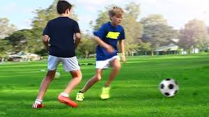top 3 easy football skills for kids u0026 beginner winger