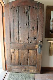 How To Frame A Door Opening Best 25 Rustic Front Doors Ideas On Pinterest Entry Doors