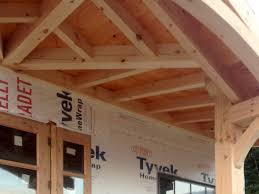 Wood Porch Ceiling Material by Bethel Timber Frame Porch The Barn Yard U0026 Great Country Garages